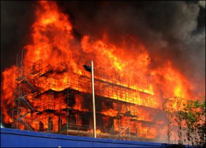 Fire safety for employees