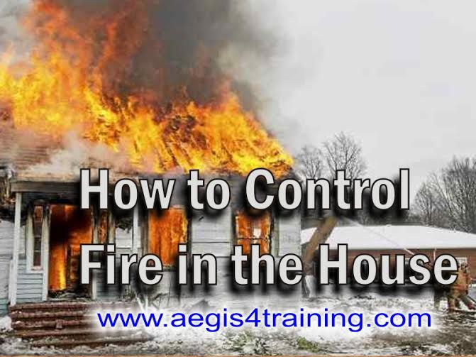 Fire training course