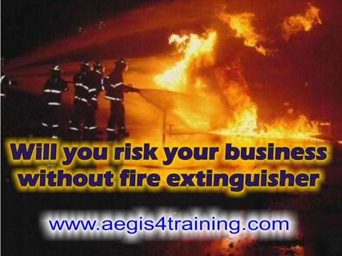 fire extinguisher training in the UK
