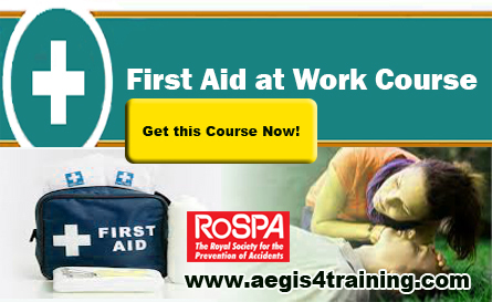 First Aid Safety Training course