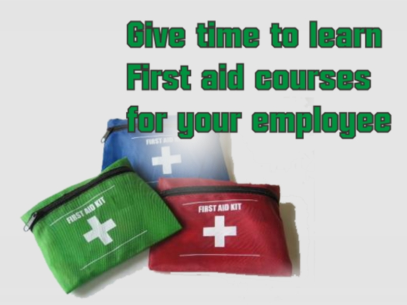 first aid safety courses in UK