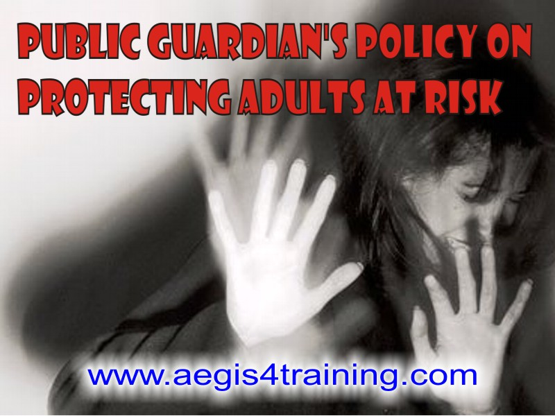 Safeguarding Adults training online