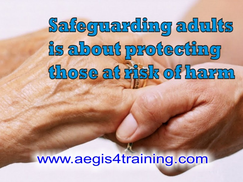 Safeguarding adults online training in the UK