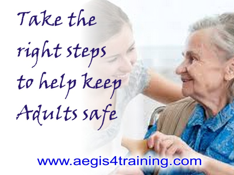 Safeguarding adults training in the UK