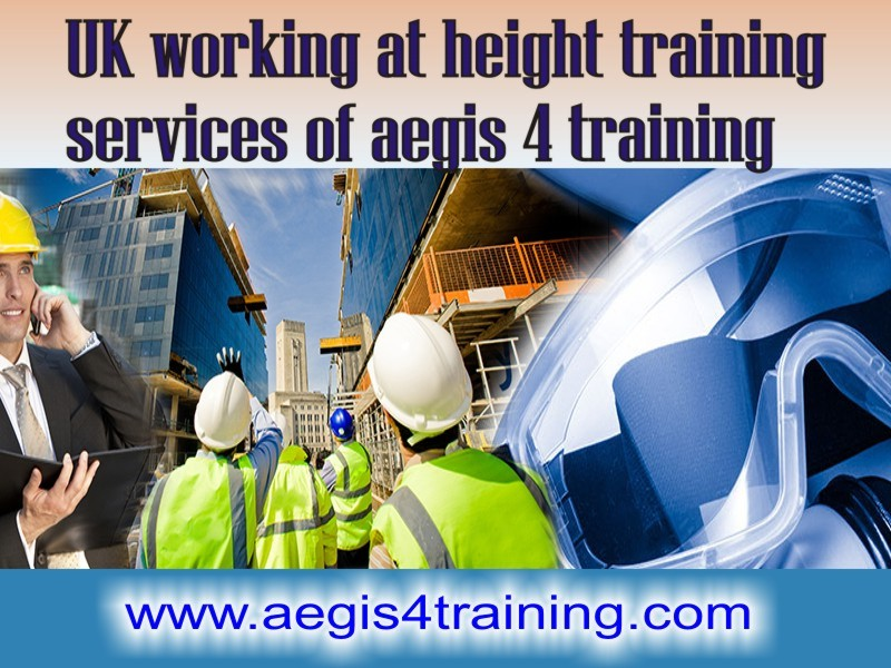 Working at heights training in the UK