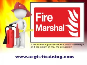 Fire Marshal training in UK