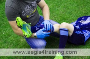 first aid training in UK sports