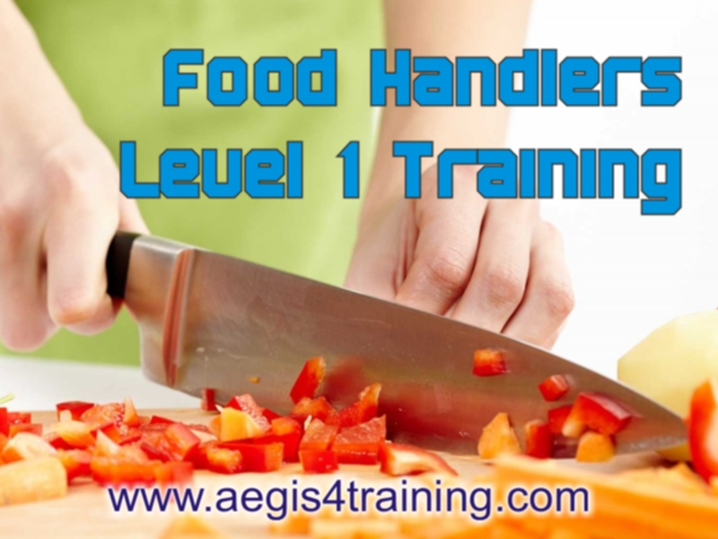 food handling training level 1