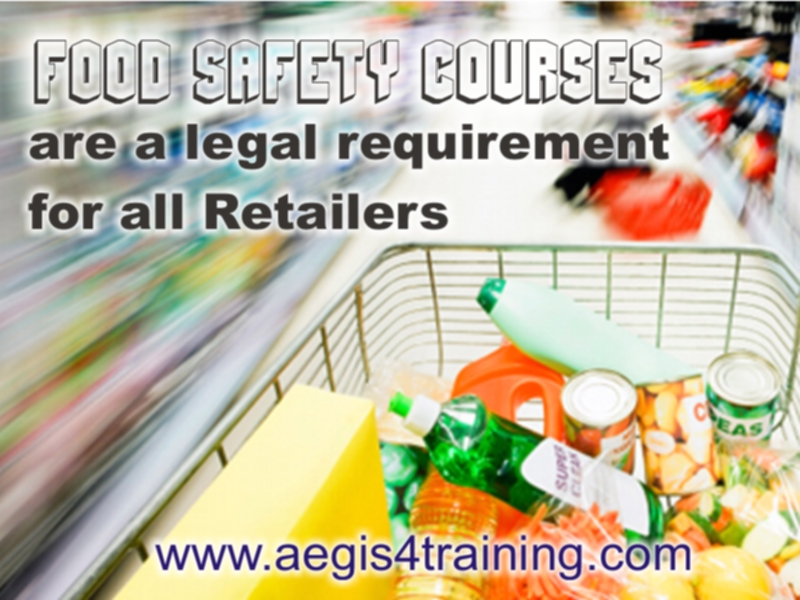 Food retail training in the UK