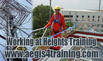 working at heights training in UK