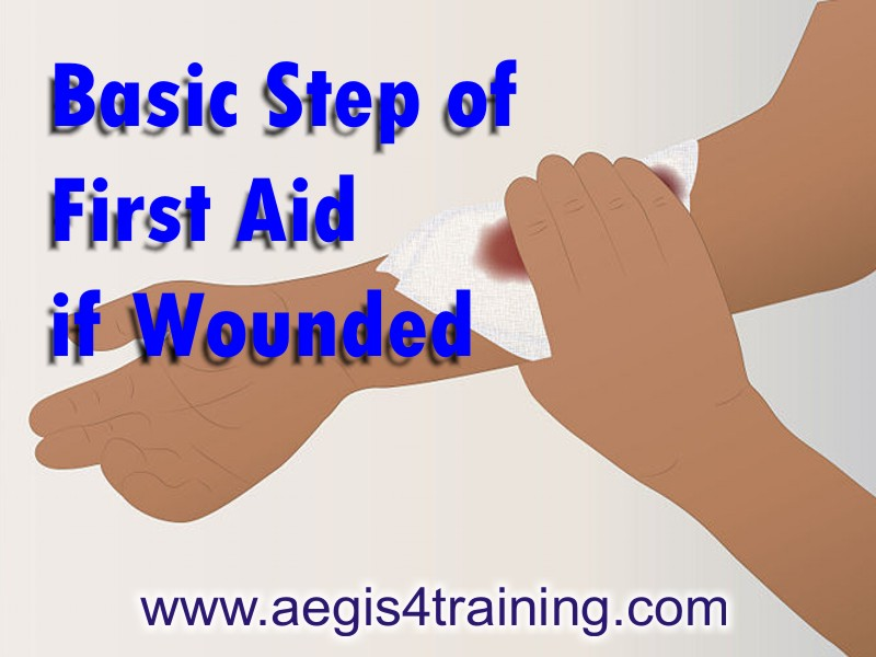 First Aid of the wounded