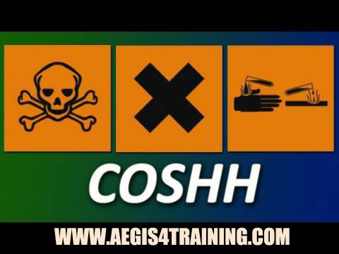 Online training for COSHH