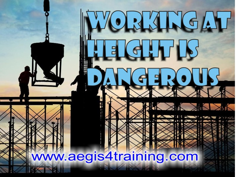 working at height training in the UK