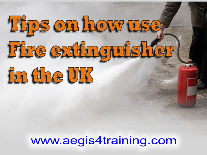 tips on how to use fire extinguisher