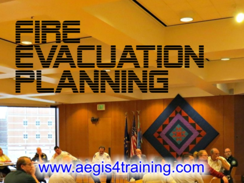 Fire evacuation planning