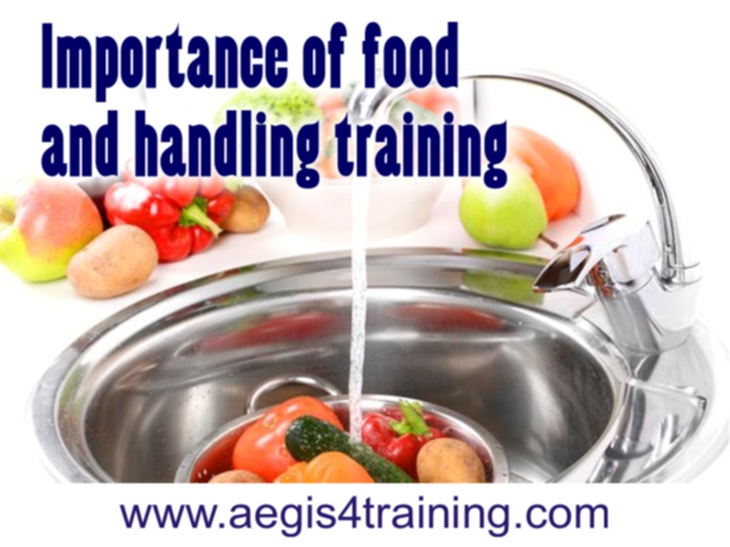 Importance of food handling in the UK