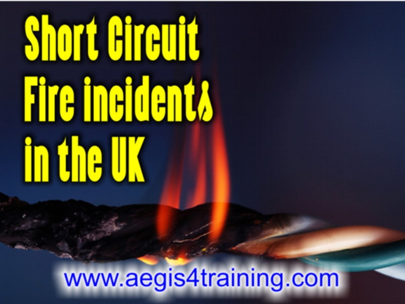 Short Circuit Fire incidents in the UK