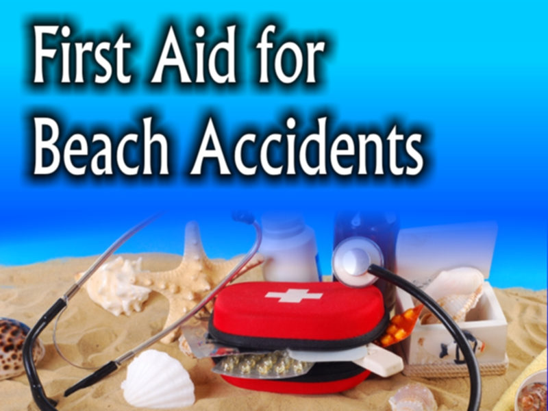 first aid for beach accidents